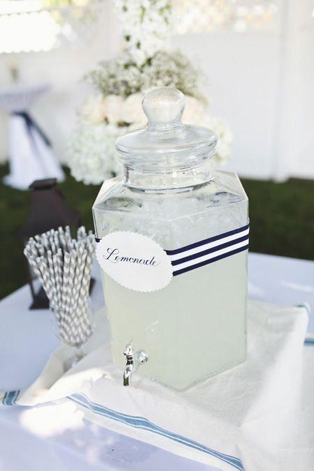 Food and beverage wedding ideas.