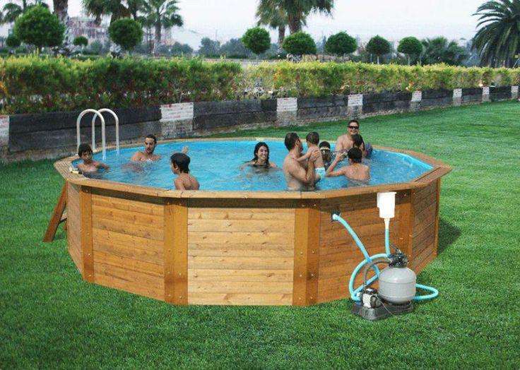 61 best piscinas montables de acero images on pinterest budget ladder and pools. Black Bedroom Furniture Sets. Home Design Ideas
