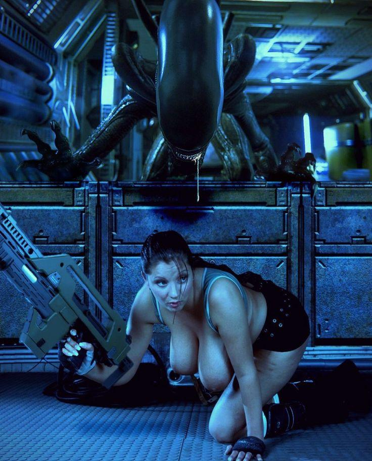 Nadine Jansen - Xenomorph Hunter 6