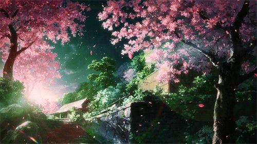 7 best Hitsugi no Chaika images on Pinterest Animation, Anime art - cherry blossom animated