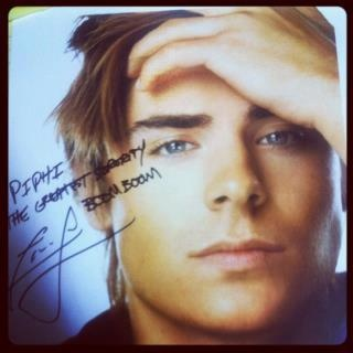 "Zac Efron knows what's up- ""Pi Phi, the greatest sorority. Boom boom."""