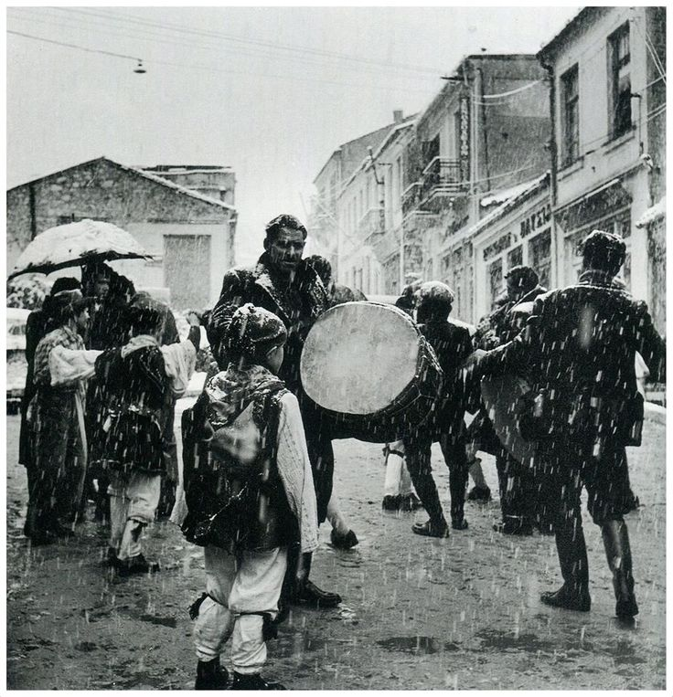 Καστοριά Καρναβάλι 1956 φωτ.Σπύρος Μελετζής
