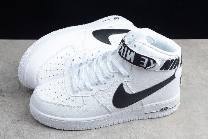 Nike Air Force 1 High 07 Nba White Black 315121 103 Nike Shoes Air Force Shoes Sneakers High Tops Dad Shoes