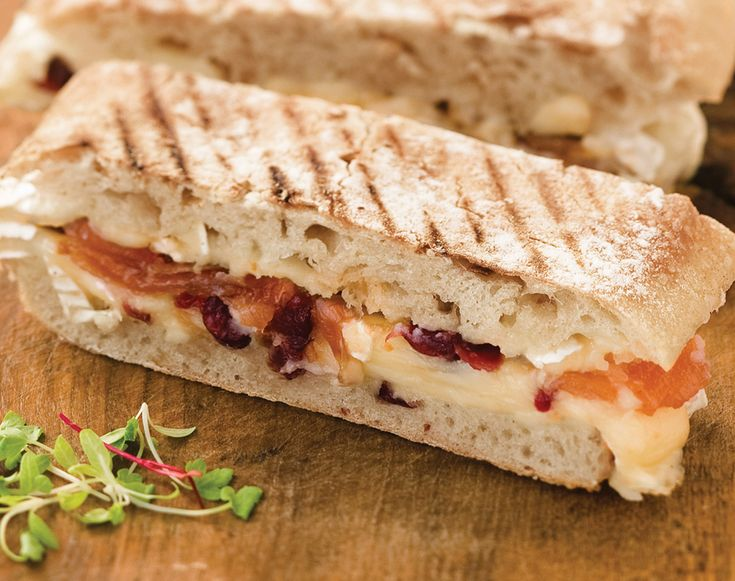 Roasted Tomato and Brie Panini