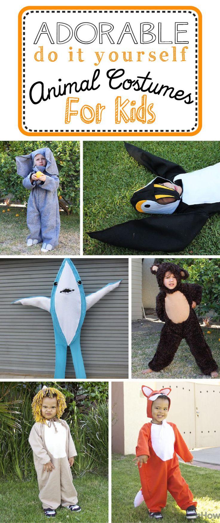252 best KID'S ANIMAL COSTUMES images on Pinterest