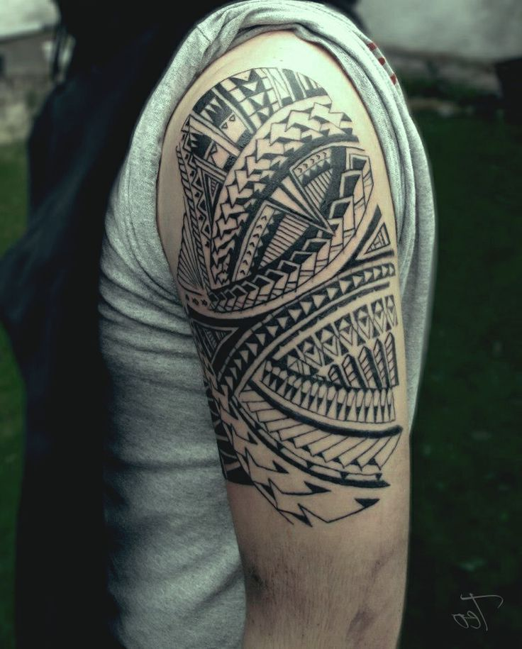 1000+ Ideas About Half Sleeve Tribal Tattoos On Pinterest