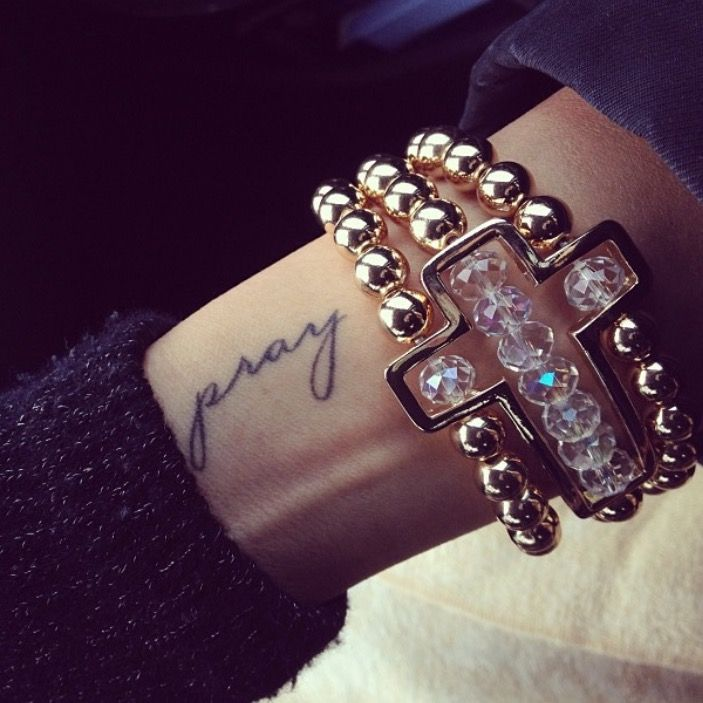 More of my #pray #tattoo on my #wrist ... #faith