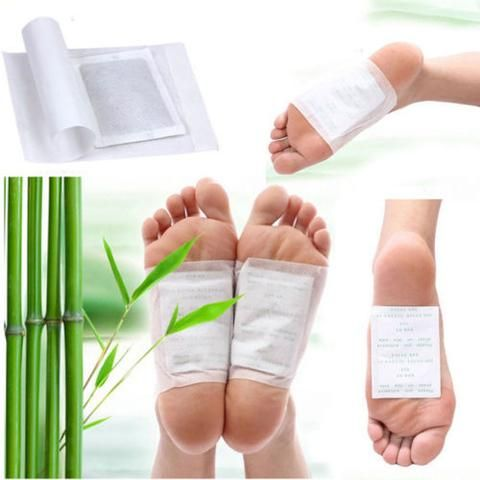 Hot 10PCS/2PCS Detox Foot Pads Patch Detoxify Toxin Adhesive Keeping Fit Healthy