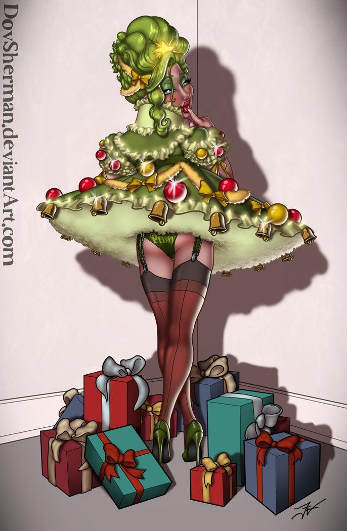 Christmas Twee by DovSherman | Forced fem | Tg captions ...