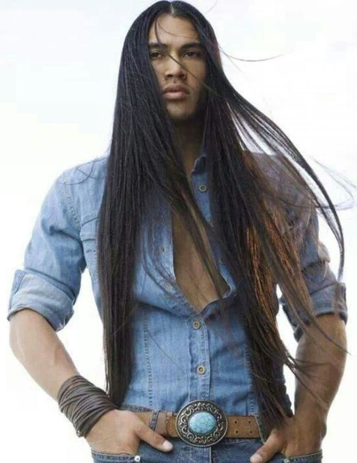 Sexy Native American Man Long Hair Styles 56110b5282428