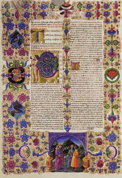 Bibbia di Borso d'Este  Manoscritto - Biblioteca Estense di Modena