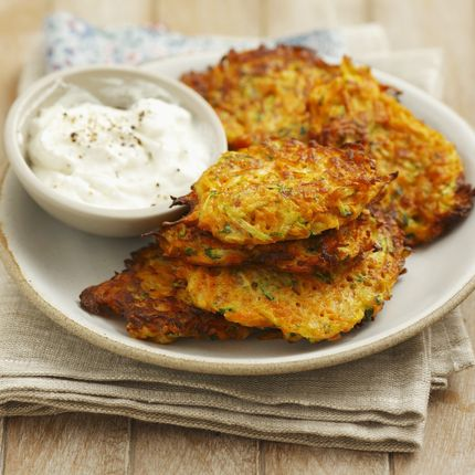Carrot and Zucchini Cakes