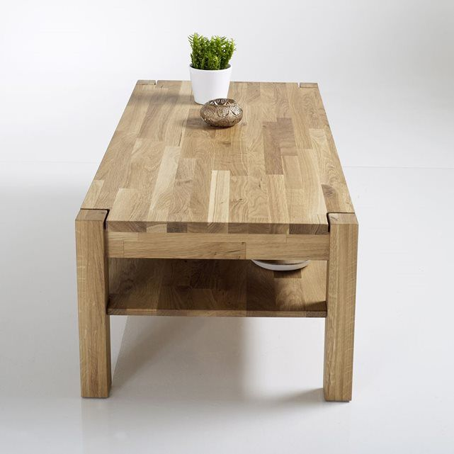 Best 25 table basse chene ideas on pinterest table basse chene massif cai - Table basse chene huile ...
