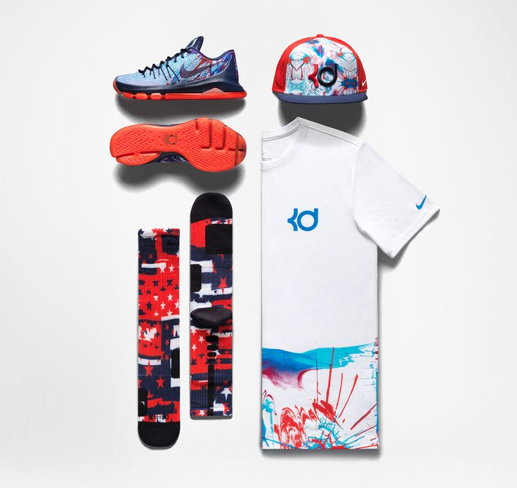 The of July KD 8 drops Saturday, but you can grab the rest of this  patriotic pack now. See More. Nike ...