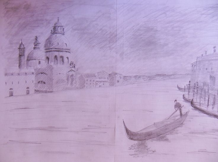 Veneza, esboço