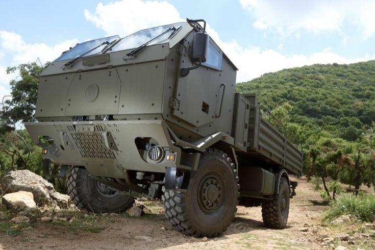 tatra truck armor by plasan