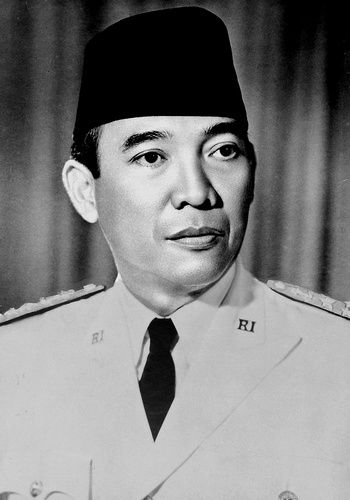 Ir. Soekarno. The first president of Republic of Indonesia