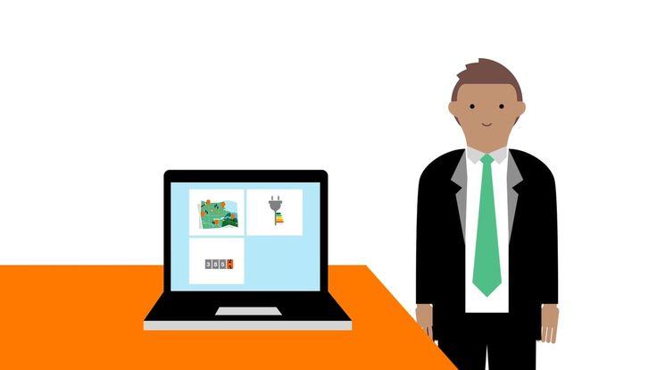 Client: Orange Business Services | Live Objects © Delasource #flatdesign