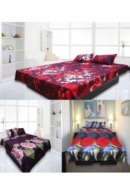 Alluring and captivating, this Multicoloured Combo Set of 3 Double Bedsheet with 2 Pillow Covers would be a great pick for you #floralprintedbedsheets #bedsheetsonline #cottonbedsheets #onlinebedsheets #homedecor Shop here-  https://trendybharat.com/home-kitchen/home-furnishing/bedsheets/alluring-multicoloured-combo-set-of-3-double-bedsheet-with-2-pillow-covers-esd9157