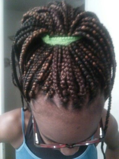 Crochet Box Braids Pinterest : Crochet box braids done on my daughters hair hair hair hair ...