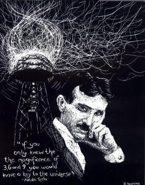3, 6 y 9 #Tesla #Quote | Teslianos: Nikola Tesla ...
