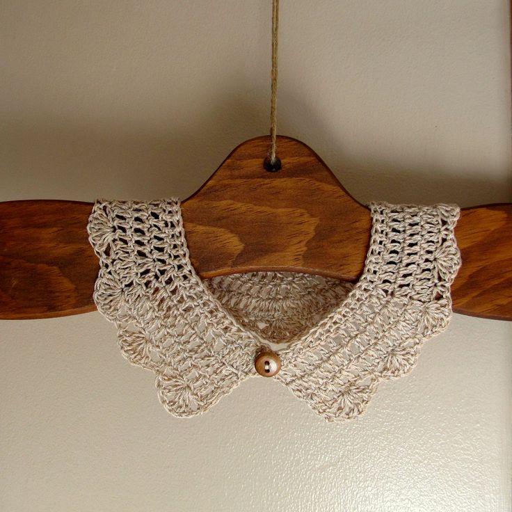 LazyTcrochet: Crochet Collar from LazyTcrochet Tutorial ✿⊱╮Teresa Restegui http://www.pinterest.com/teretegui/✿⊱╮