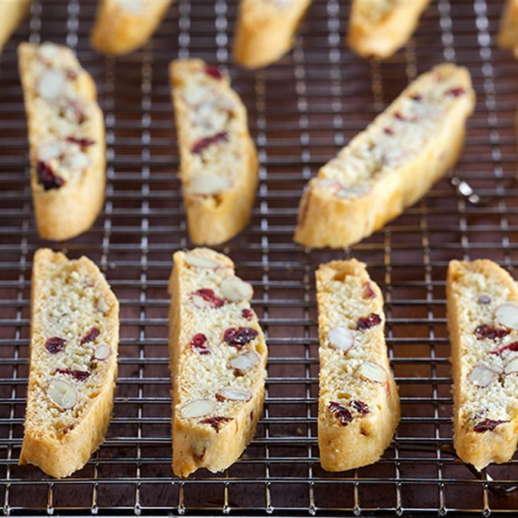 Try this Classic Cranberry Almond Biscotti recipe by Chef Anna Olson. This recipe is from the show Bake With Anna.