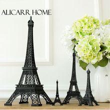 Франция Париж Эйфелева Башня модель украшения интерьера Главная Обстановка Декор фотография реквизит подарок черный(China (Mainland))