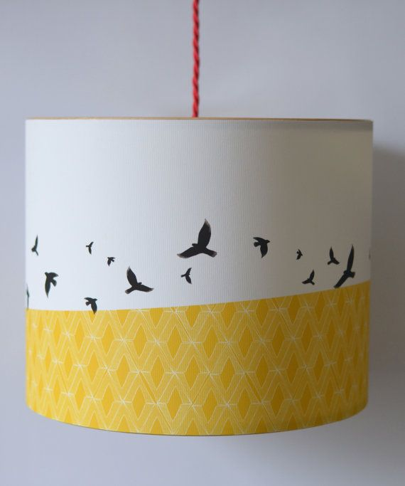 Handmade Pendant Lampshade  'Free' Flying by ANorthernLightLamps, £67.00