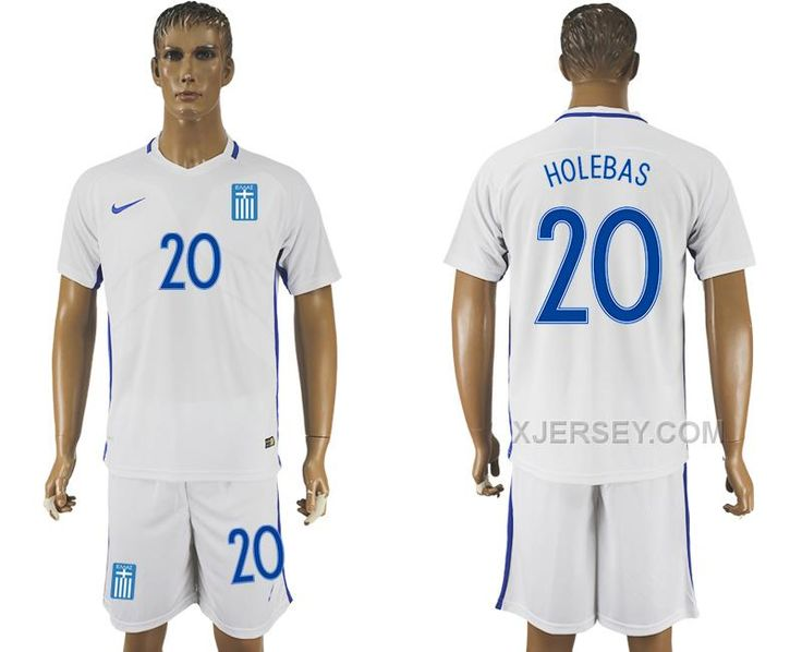 http://www.xjersey.com/201617-greece-20-holebas-home-soccer-jersey.html 2016-17 GREECE 20 HOLEBAS HOME SOCCER JERSEY Only $35.00 , Free Shipping!