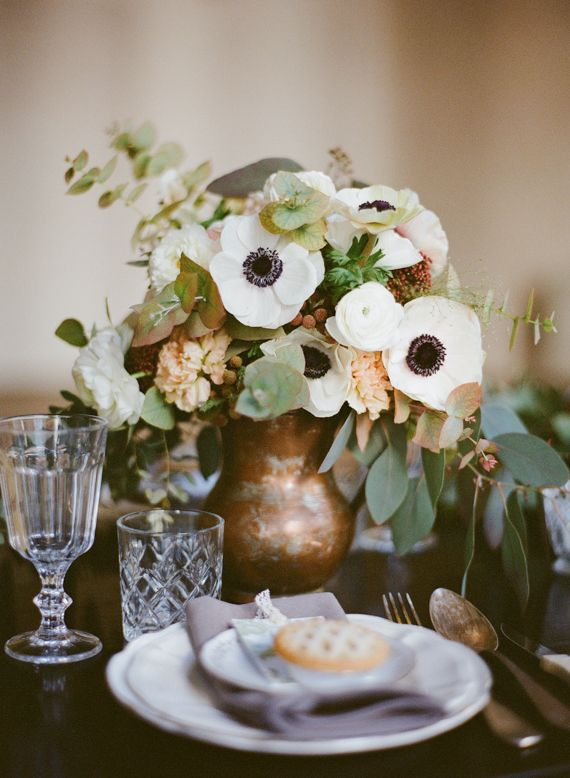 Natural, organic Parisian wedding ideas