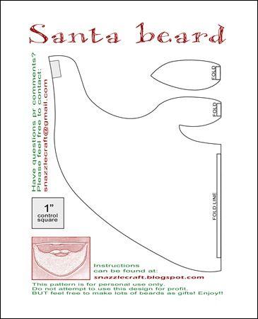 snazzlecraft.blogspot.com santabeard_pattern
