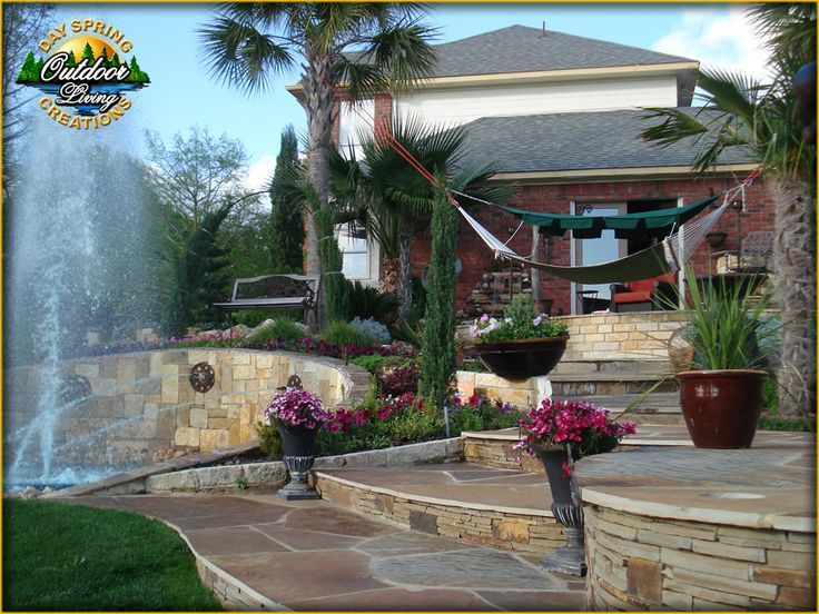 At dayspringlandscape.com, creating outdoor spaces is our specialty, for which we work with the most advanced techniques in garden decoration. #Arbor_Pergola_Rockwall #Italian_Ovens