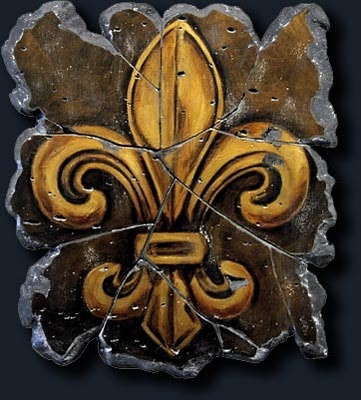 Fleur De Lis is the symbol of NOLA