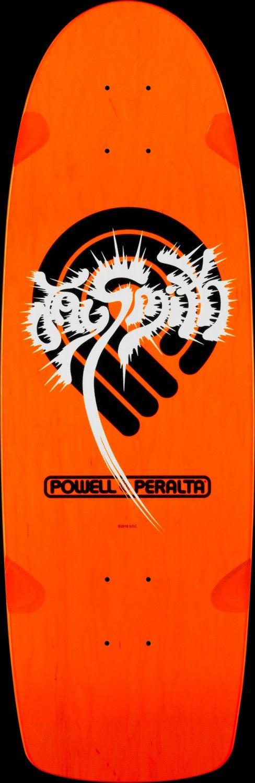 Powell Peralta Jay Smith Original Orange Skateboard Deck