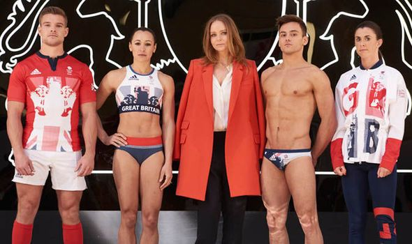 Picture Special: Team GB unveil new Rio Olympic Games kit designed by Stella McCartney