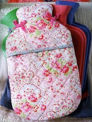 Hot Water Bottle Cover. Blog · Cut Out + Keep