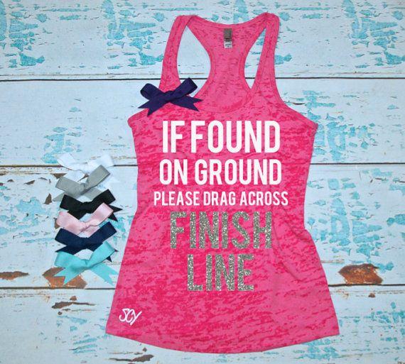Women's running shirt. Marathon tank top. by strongconfidentYOU