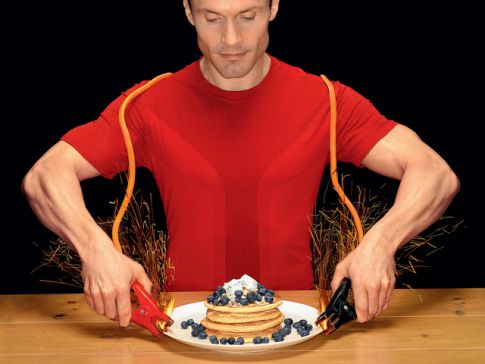śniadanie dla biegaczy ;)