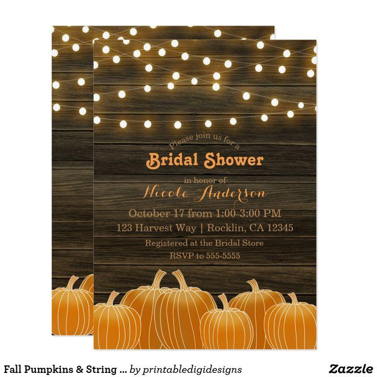 290 best Bridal Shower Invitations images on Pinterest