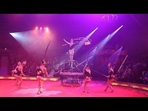 Circus Krone 2016: Premiere 1. Winterspielzeit München am 25.12.2015