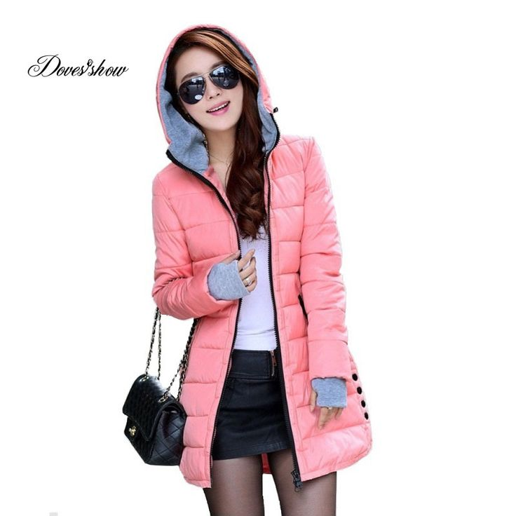 Women's hooded cotton-padded jacket winter medium-long cotton coat plus size down jacket female slim ladies jackets coats gift Nail That Deal http://nailthatdeal.com/products/womens-hooded-cotton-padded-jacket-winter-medium-long-cotton-coat-plus-size-down-jacket-female-slim-ladies-jackets-coats-gift/ #shopping #nailthatdeal