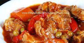 pork mechado filipino recipe