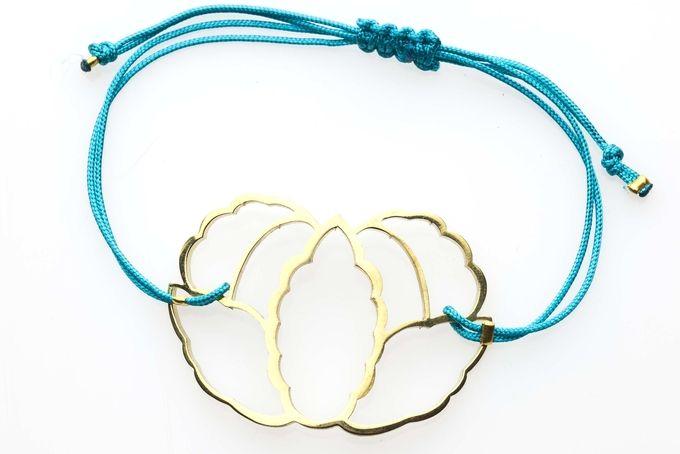 Lotus flower bracelets by Henriette Botha