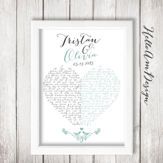 Custom Wedding Gift For Husband : ideas about Wedding Vows For Her on Pinterest Vows for her, Wedding ...