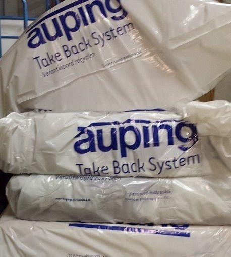 auping take back systeem verantwoord recyclen door slaapkenner theo bot dorpsstraat 162 in Zwaag  Ook andere oude matras merken/kwaliteiten gaan naar retour matras  www.theobot.nl