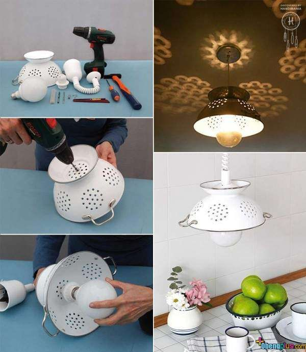 Rice container lamp