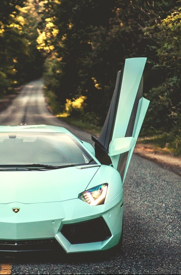 Tiffany Blue Lamborghini Aventador  If I Wasnu0027t So Sold On Lambos Needing  To Be A Sporty Color Like Red, This Would Be The Car Of My Dreams!