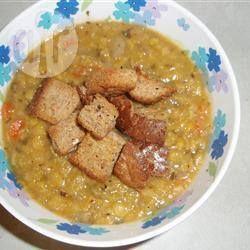 Vegan Split Pea and Barley Soup @ allrecipes.com.au