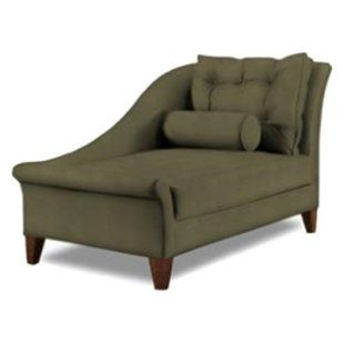 Klaussner Lincoln Microsuede Chaise Lounge   Indoor Chaise Lounges At Chaise  Lounges